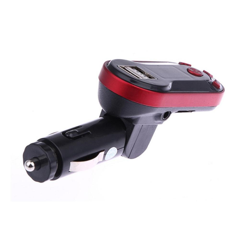 Red Car Handsfree Bluetooth Wireless FM Transmitter MP3 Music Player