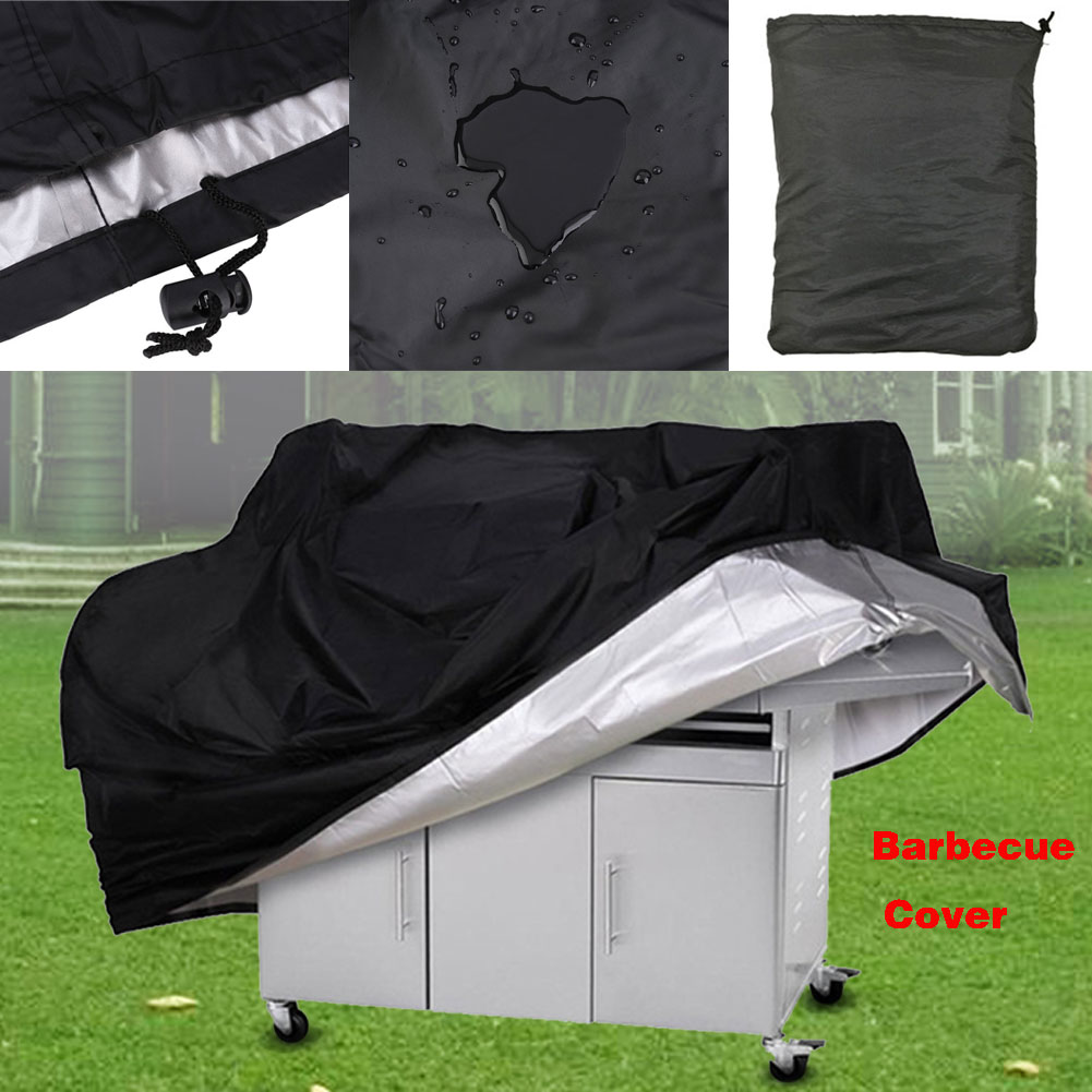 OutdoorPortableWaterproof Dustdproof Gas BBQ Grill BarbecueCover Protector