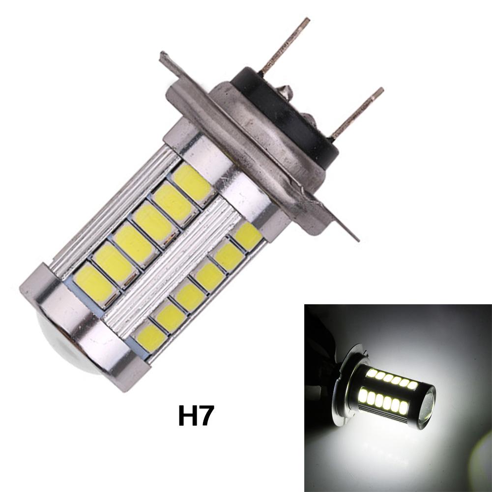 Super Bright H7 5630SMD 33Led Car Fog Light Headlight Driving Lamp Bulb