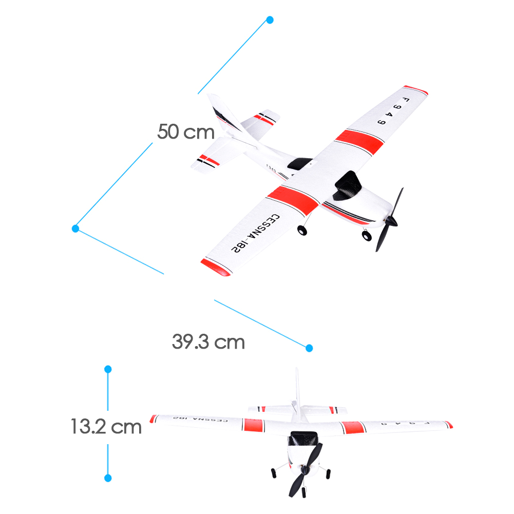 F949 24g 3ch Rc Airplane Fixed Wing Plane Outdoor Toys Remote Diagram 24ghz Drone Aircraft Glider Toy