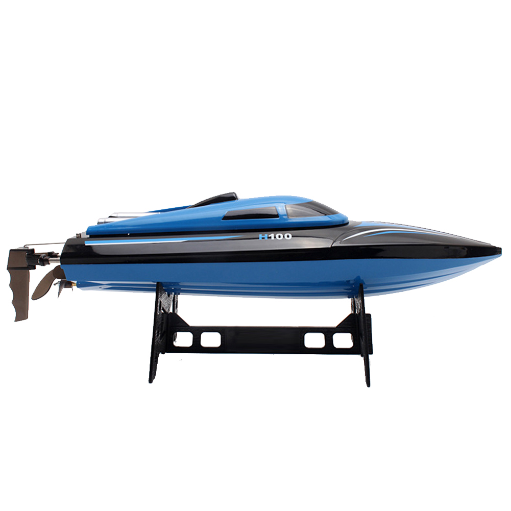 High Speed 2.4GHz 4CH Remote Control RC Boat Electric Toy W/LCD Screen