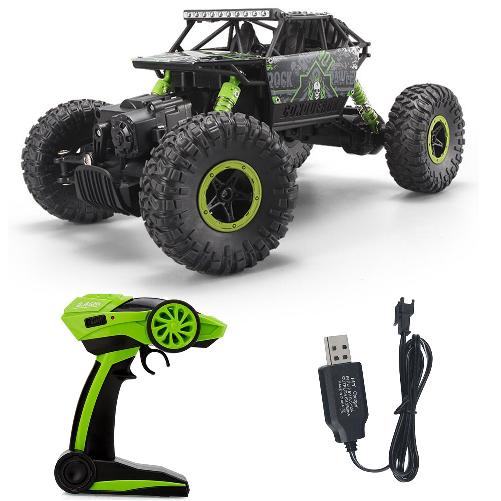 1/18 2.4GHz High Speed Radio Remote Control RC Car Offroad Crawler Toy