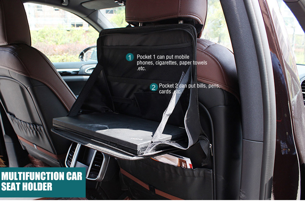 Car Seat Mount Tray Laptop PC Table Notebook Desk Food Table ...