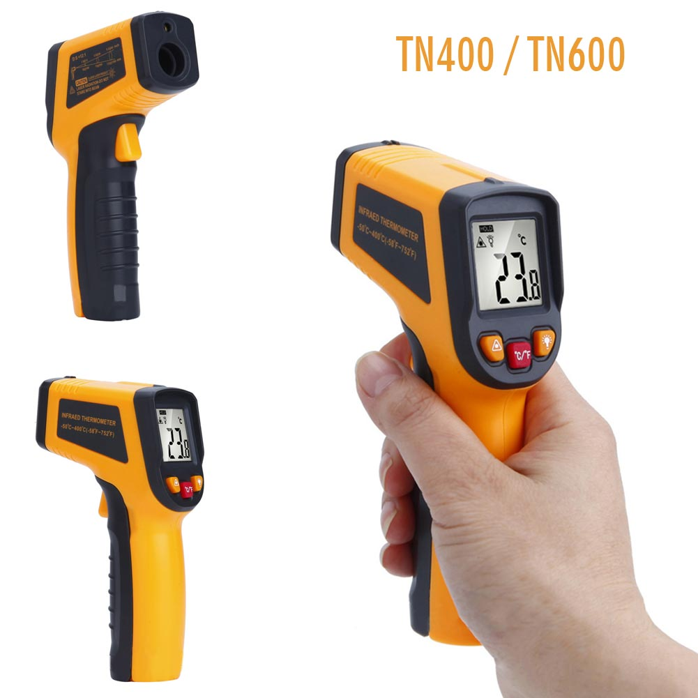 Handheld Non-Contact Laser LCD IR Infrared Digital Temperature Thermometer