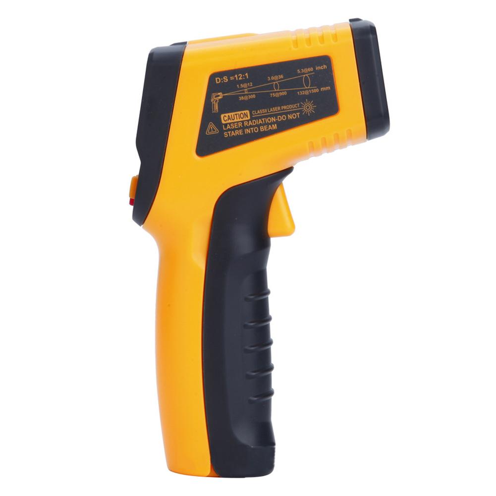 Wholesale TN600Handheld Non-ContactLaser LCD IR InfraredDigitalTemperatureThermometer