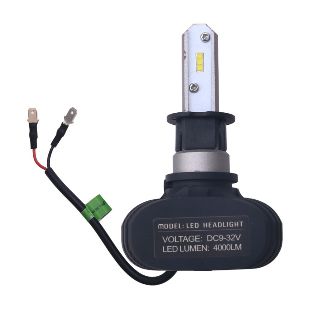 2pc Super Bright COB H3 S1 8000LM 100W LED CarHeadlight Fog Light Lamp Bulb