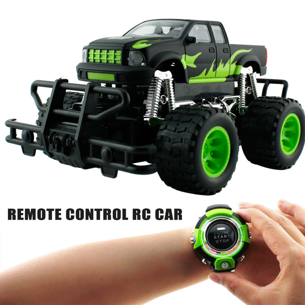 Wholesale Remote Control RC Car Smart Watch Recording Voice Activated Truck Toy Gift