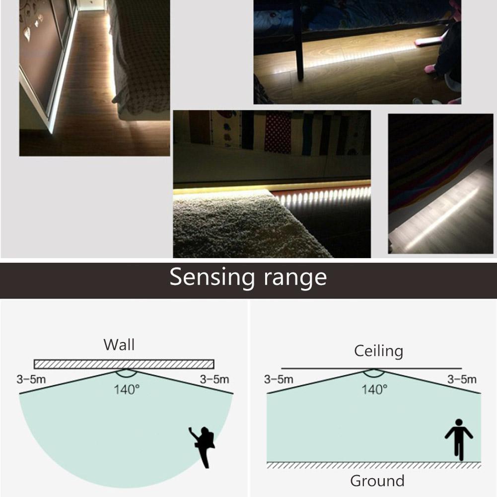 Indexbild 9 - Mini USB Schalter Infrarot PIR Bewegungsmelder Wand Lichtsensor für Nachtlicht L
