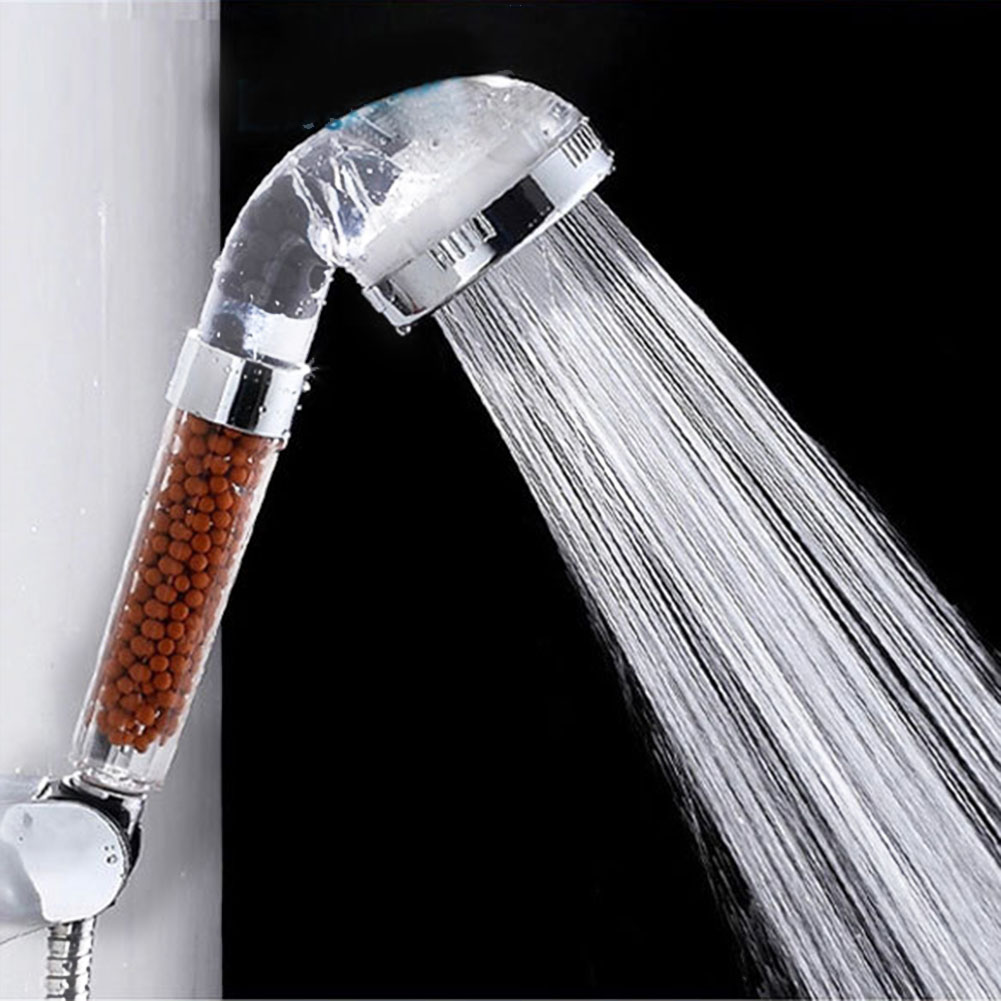 New Anion Spa Booster Handheld Shower Head Nozzle //Sprayer Water Saving Bathroom