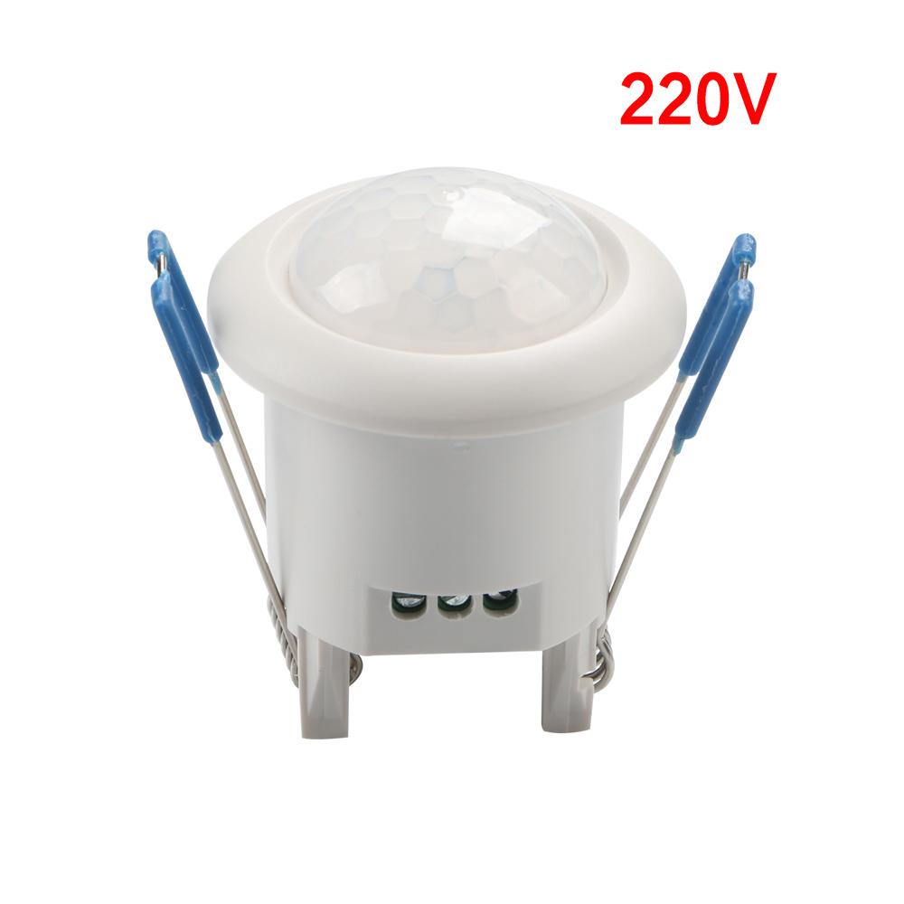 Mini Adjustable Ceiling PIR Infrared Body Motion Sensor Lamp Light Switch