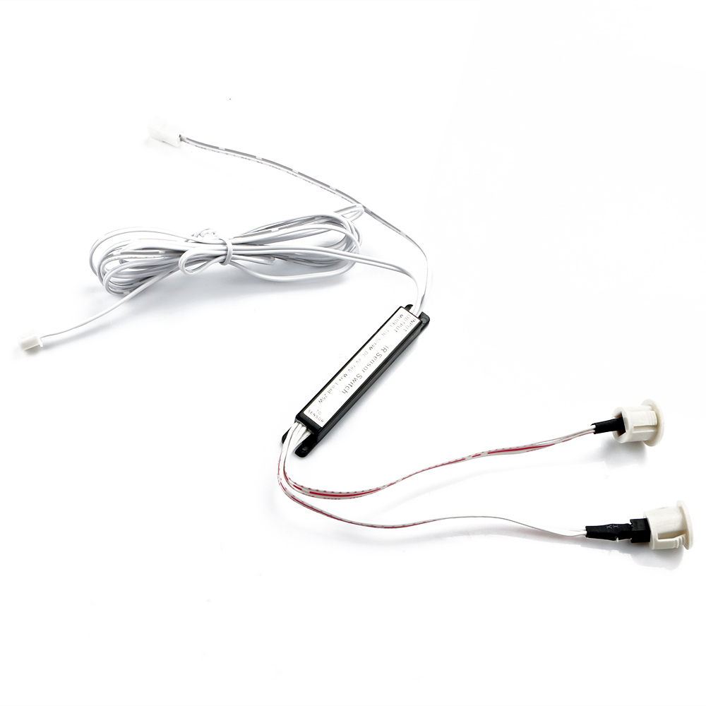 Auto Pir Motion Sensor Detector Switch For Led Light Box Closet Wiring Door Cabinet New