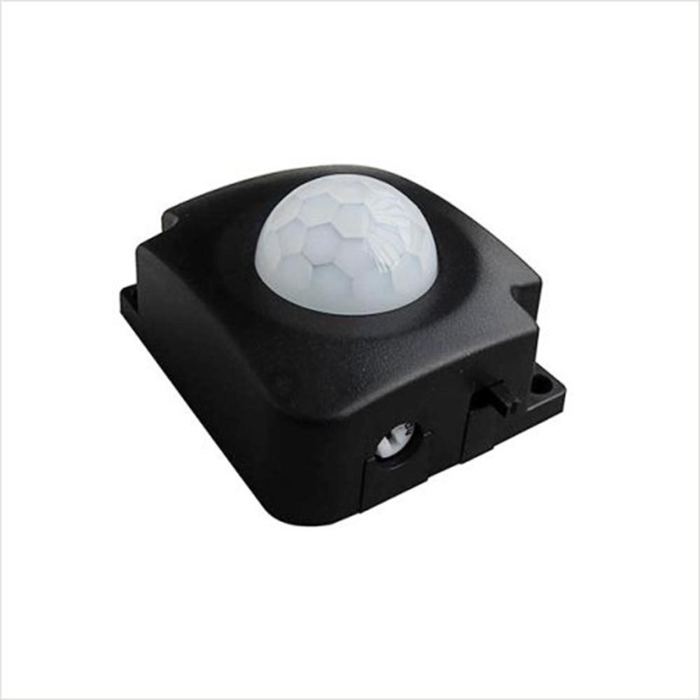 Mini DC5-30V Adjustable LED PIR Infrared Motion Sensor DetectorSwitch Black