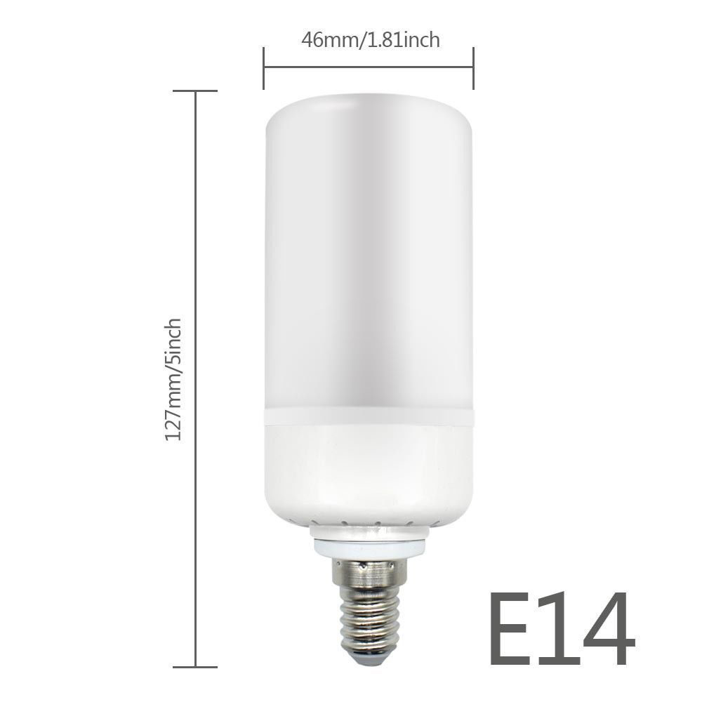 e27 e14 e26 led burning light flicker flame lamp bulb fire effect decorative new ebay. Black Bedroom Furniture Sets. Home Design Ideas