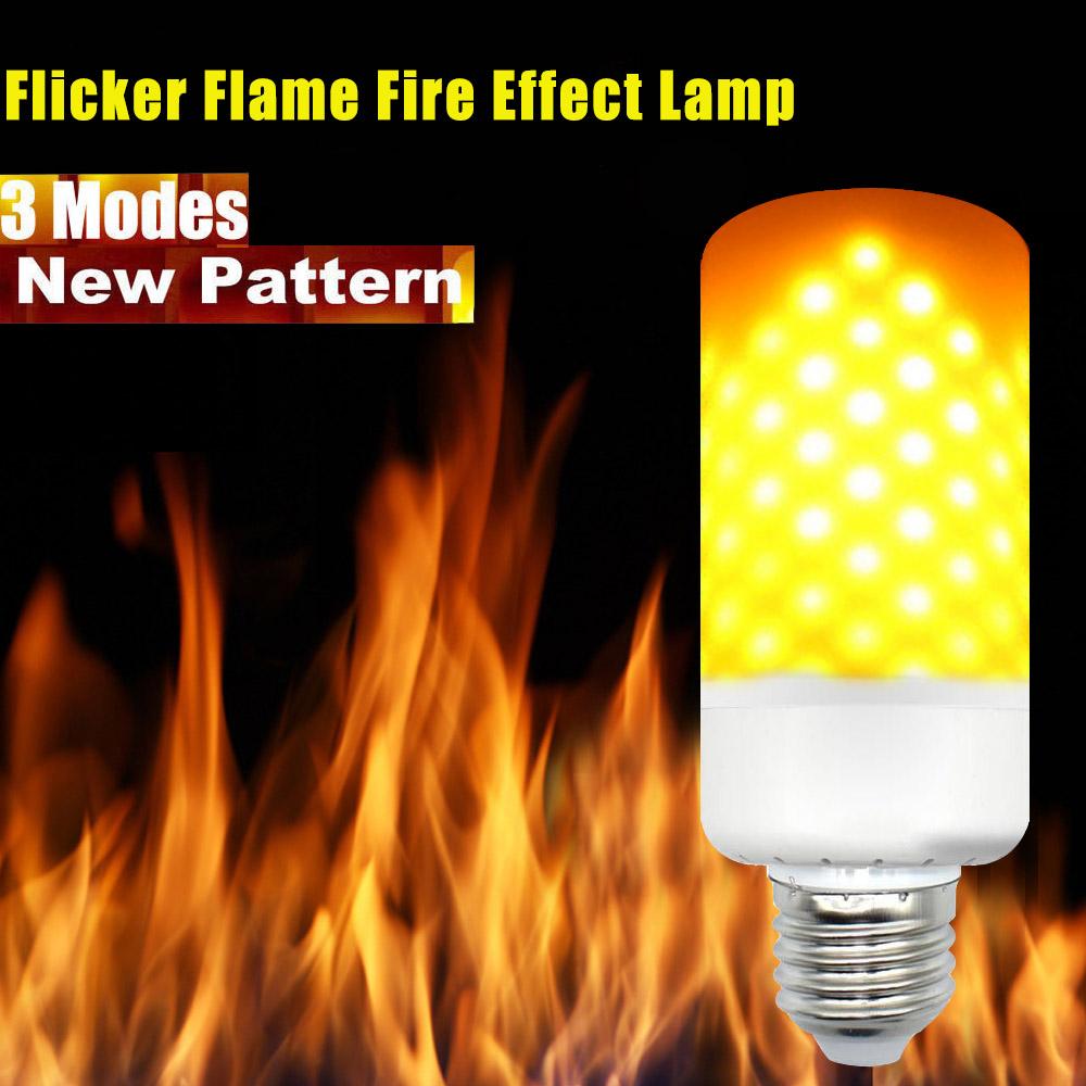 High Quality Multi Function Decorative Elegant Style Led: E27 E26 B22 LED Brenn Licht Flicker Flamme Lampen Birne