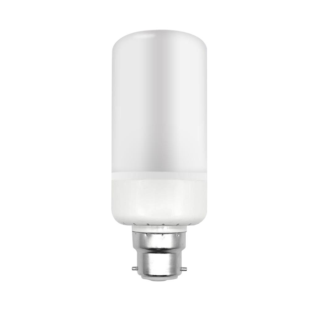 5W 3Mode B22 LED Burning Light Flicker Flame FireEffect Lamp CornDecor Bulb