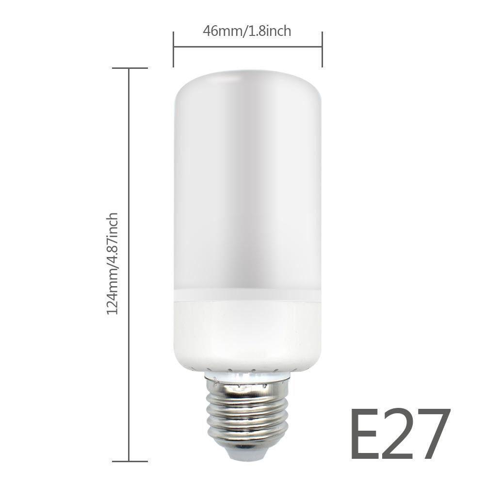 e27 e26 b22 led brenn licht flicker flamme lampen birne feuer effekt 2 style ebay. Black Bedroom Furniture Sets. Home Design Ideas