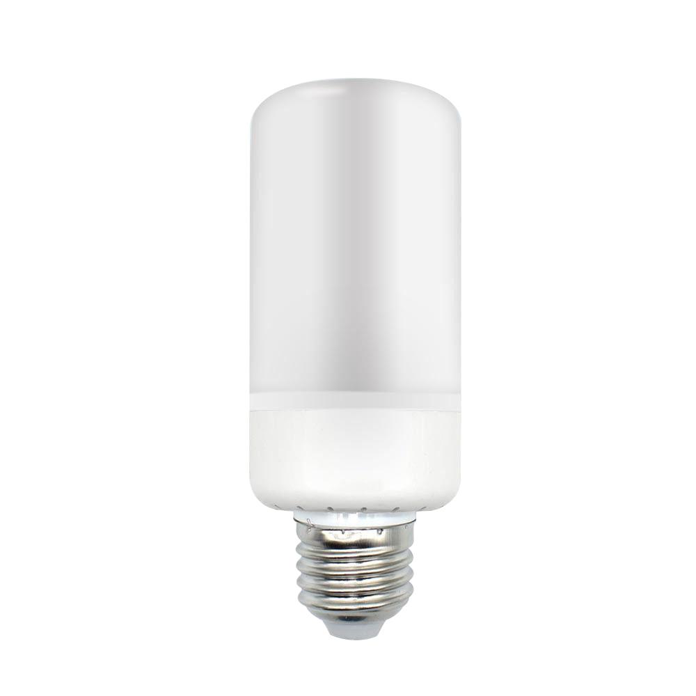 5W 3Mode E27 LED Burning Light Flicker Flame FireEffect Lamp CornDecor Bulb