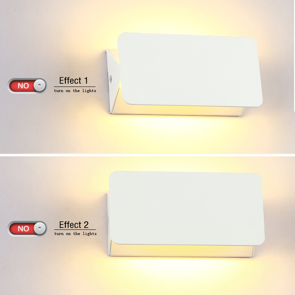 10W LED Aluminum Bath Front Mirror Aisle Corridor Light Bedside Wall Lamp