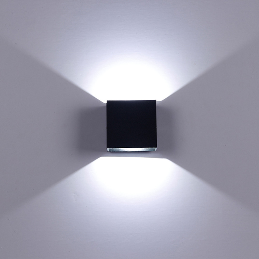 6w led wandleuchte spiegelleuchte wandlampe badlampe. Black Bedroom Furniture Sets. Home Design Ideas