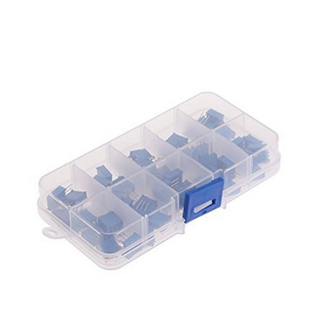 Wholesale Portable 50pc 10Value 3296W Trimmer Trim Pot Variable Resistor Kit W/Box