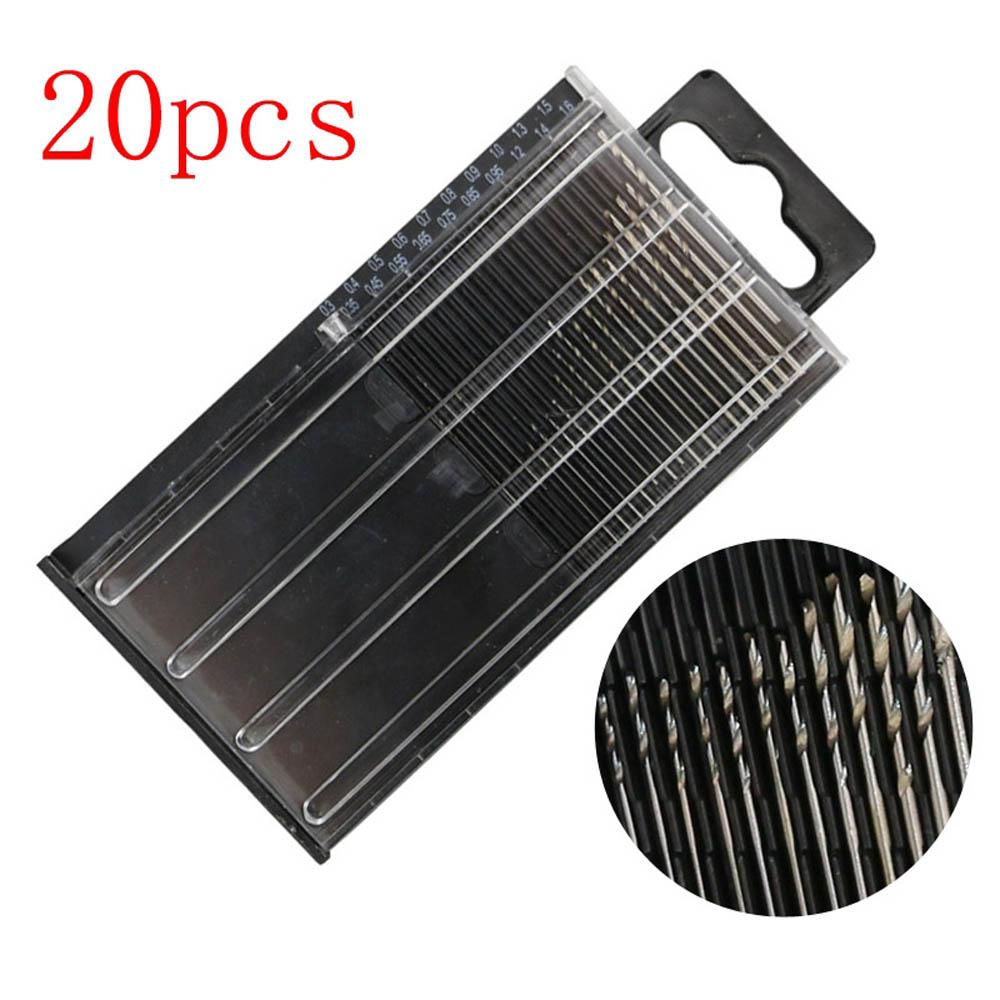 HSS-Micro-Drill-Bits-Set-High-Speed-Steel-Titanium-Metal-Twist-Drill-Bit-GOOD thumbnail 4
