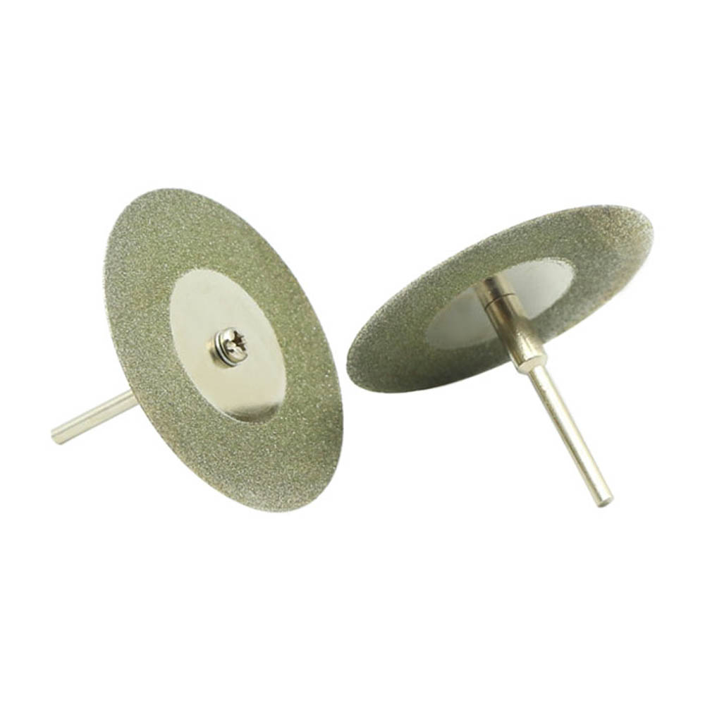 10PCS 40mm Diamond Coated Rotary Cutting Cut Off Blade Wheels Disc Kits