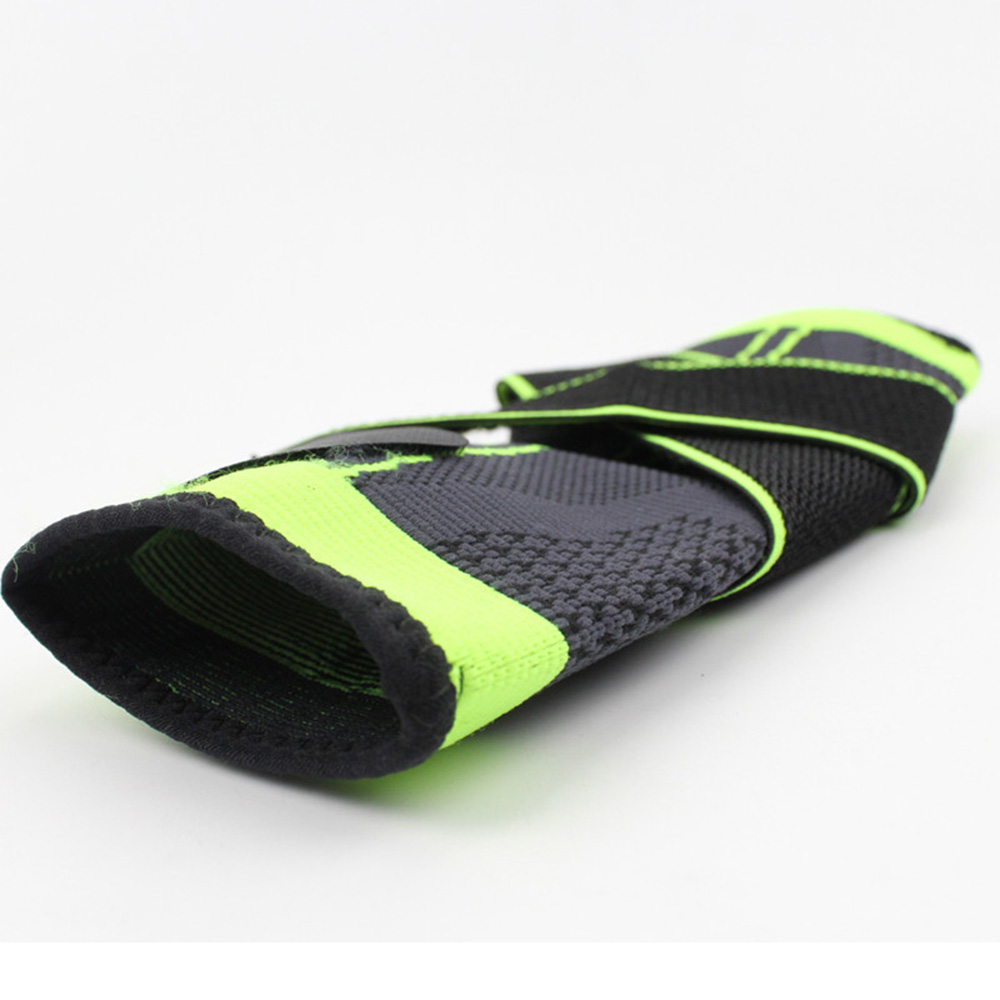3D Weaving Elastic NylonStrap Ankle Support Brace Football Sports Protector