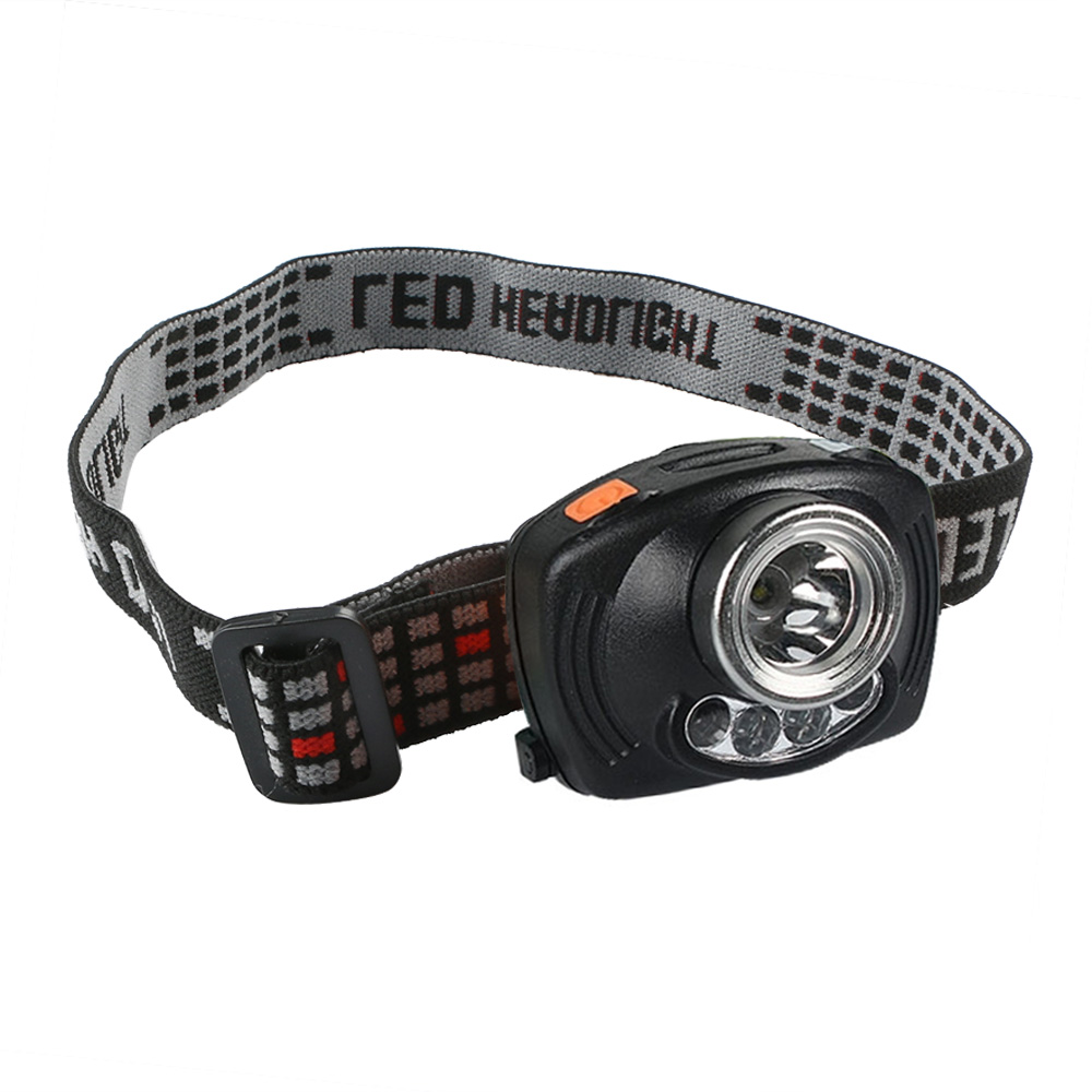 1000LM Headlamp LED Lamp with Induction Function and Caution Red Light