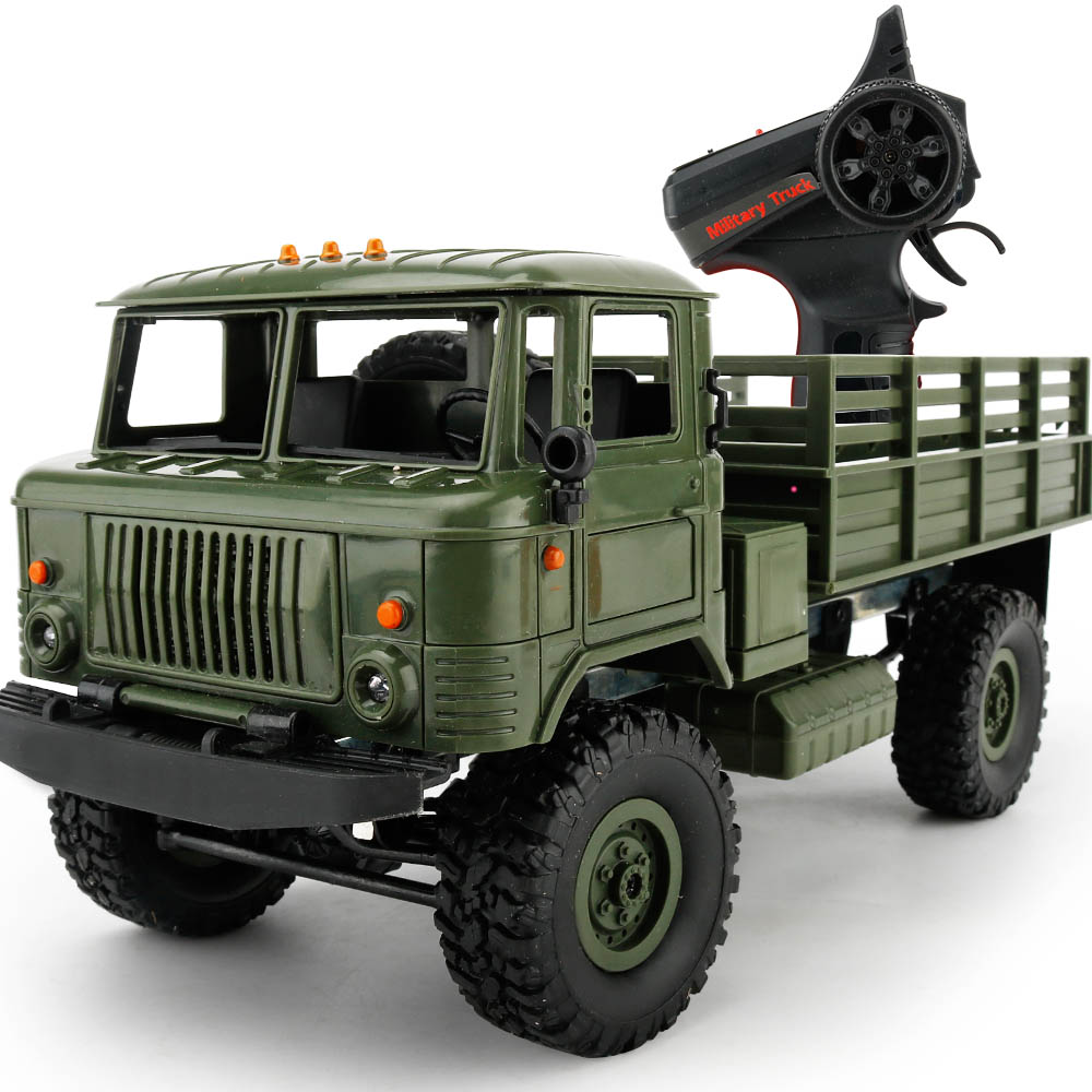 diy 1 16 rtr 2 4g rc milit r lkw truck crawler offroad car. Black Bedroom Furniture Sets. Home Design Ideas