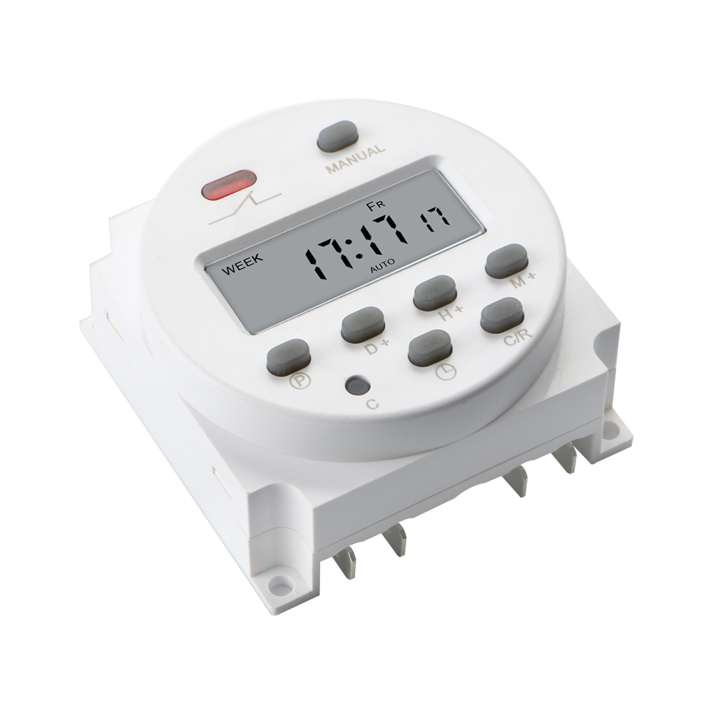 Digital Power Timer : Cn dc v a digital lcd power programmable timer time