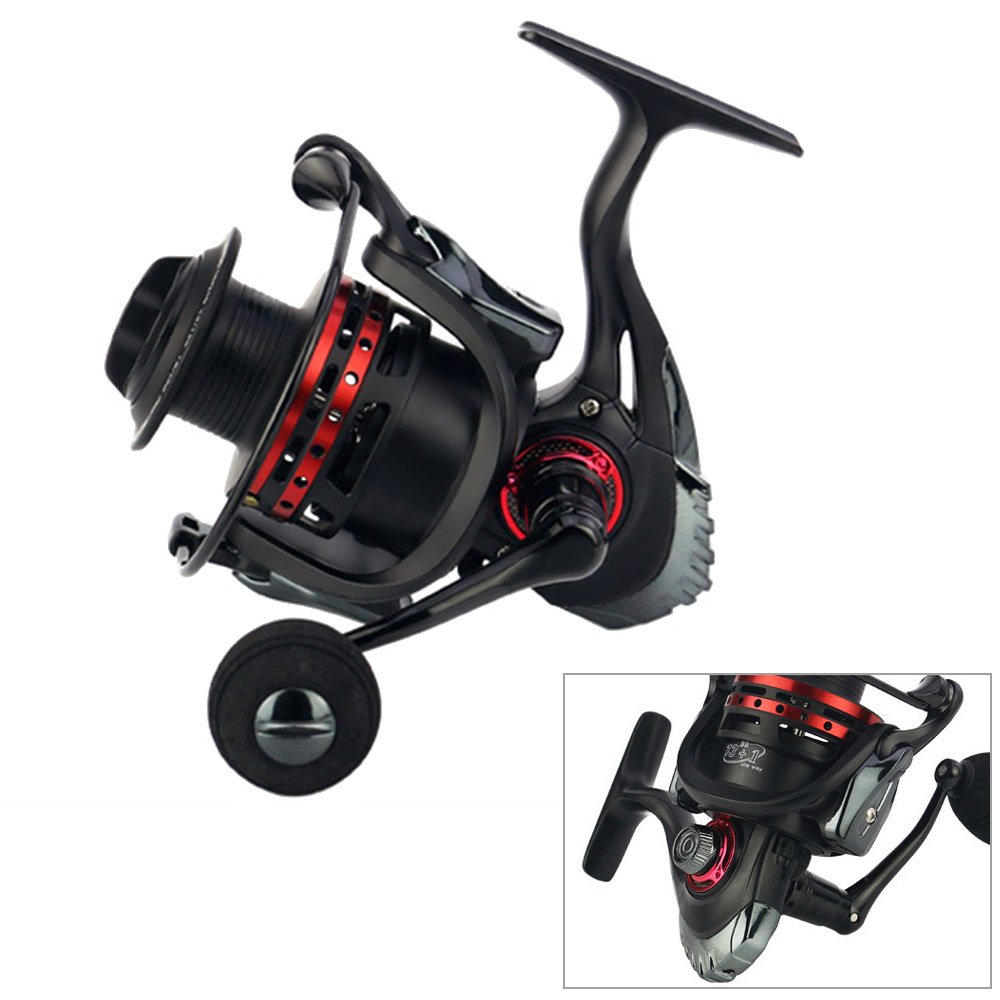 Full Metal Self-locking Saltwater/Freshwater Spinning Fishing Reel Wheel