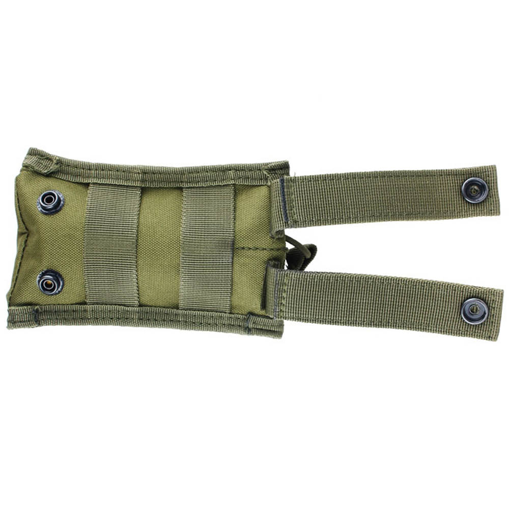 Tactical Army Military Open Top Cartridge Clip Bag Single Magazine Pouch