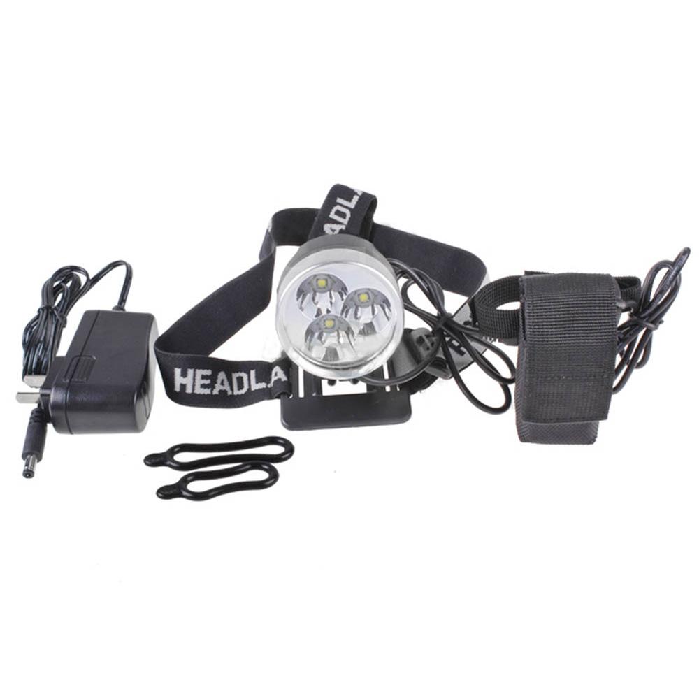 6000 Lumens 3x T6 LED Bike Bicycle Light Headlamp Head Torch Flashlight