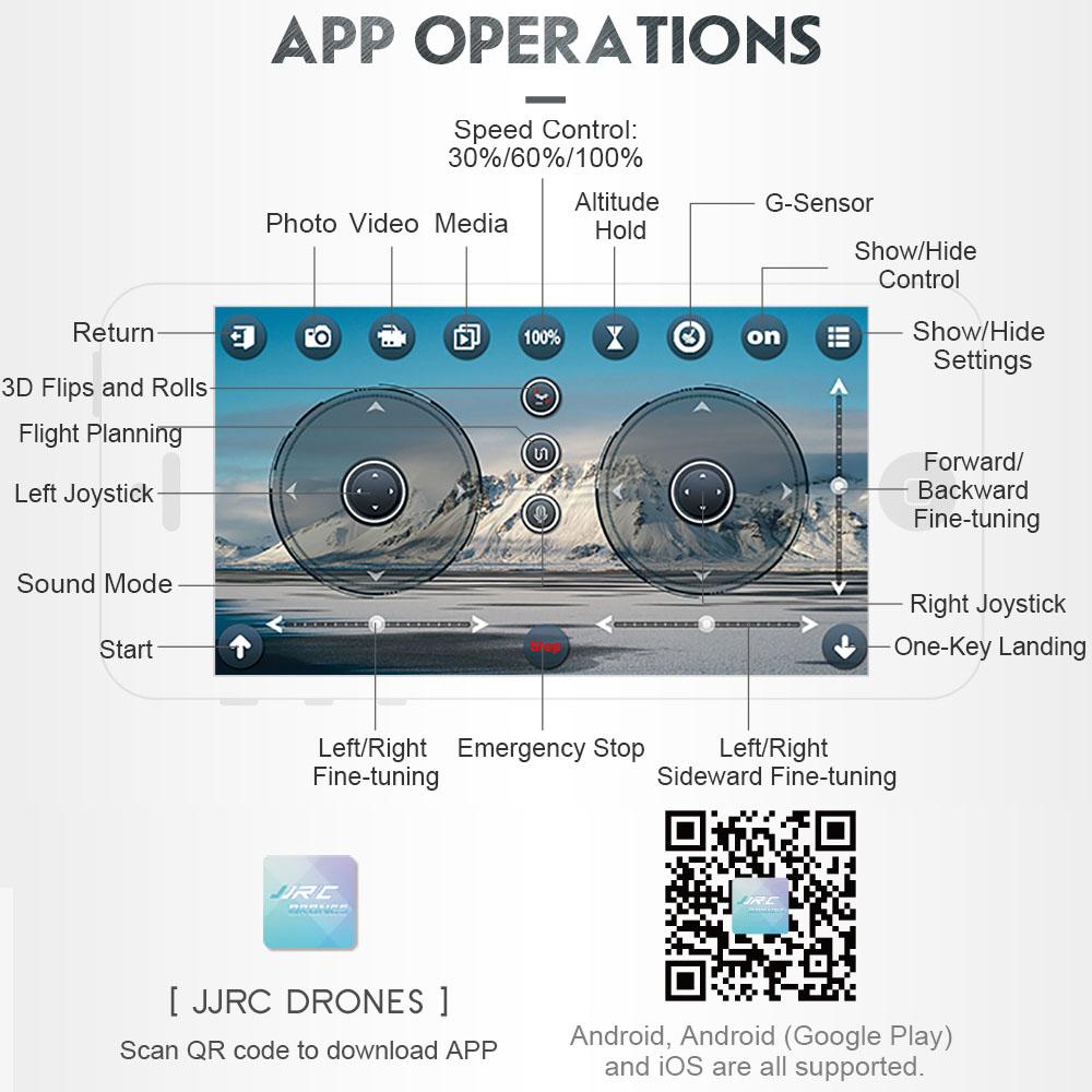Mini FoldablePocket RC Remote Control DroneFPV QuadcopterW/480P Wifi Camera