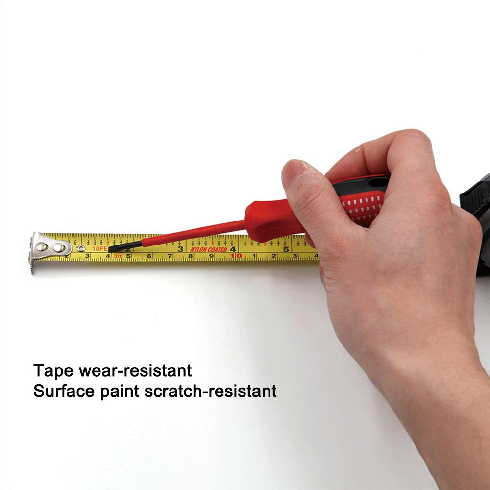 3//5//7//10M Noir Acier Au Manganèse Roll ruler mètre ruban à mesurer outil Tackle Nouveau