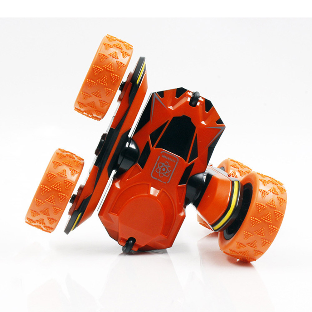 HB 2.4GHz 1/28 Stunt Twist Arm RC Remote Control Spiral Rotatable Car Toy