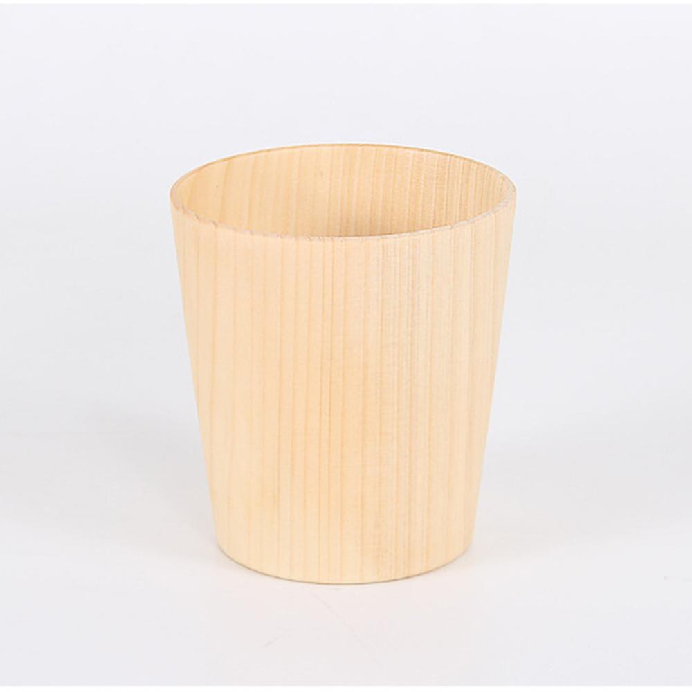 Wholesale 1pc Natural Eco-friendly 270ml LargeCapacity Wooden WaterMilk Coffee CupMug
