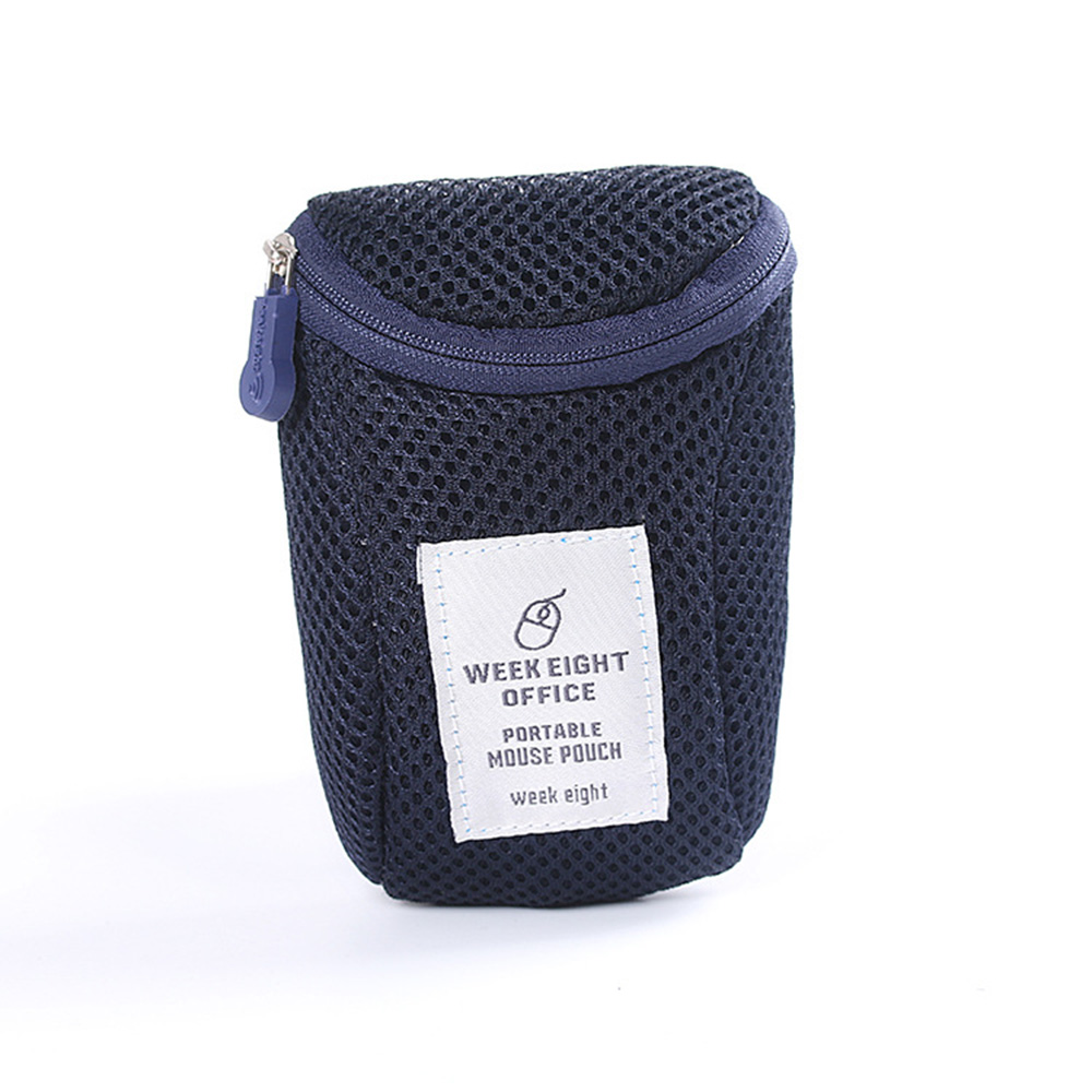 Wholesale Multifunction Mouse MedicineDrug Pill OrganizerHolder Storage Bag Navy Blue
