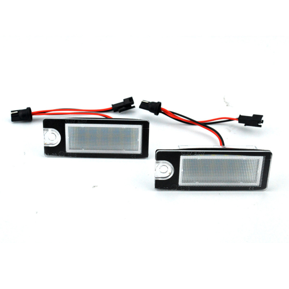 2pc 18LED Bright White License Plate Light Lamp for Volvo V70 2001-2007