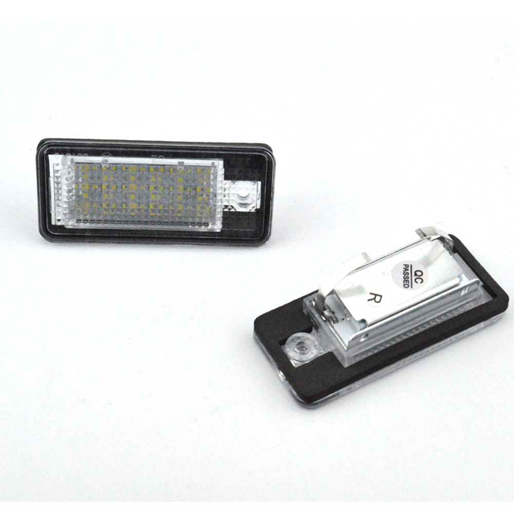 2pc 18LED Bright White License Plate Light Lamp for Audi A3/S3 04-12