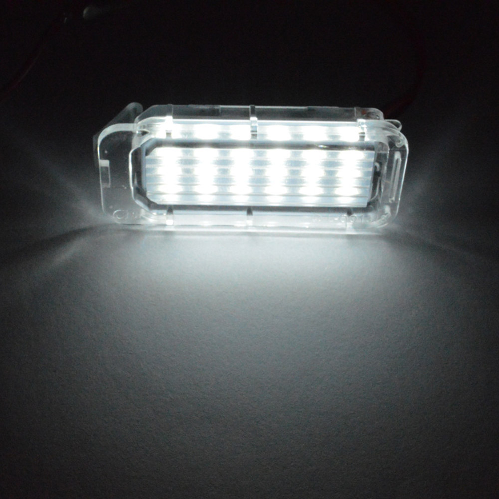 2pc/Set 18LED Bright White License Plate Light Lamp for Ford Focus 5D