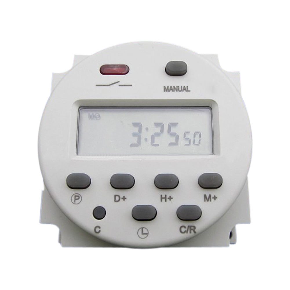 1pc Cn101 Ac 110v Digital Lcd Power Programmable Timer Time Relay Switch Image Is Loading
