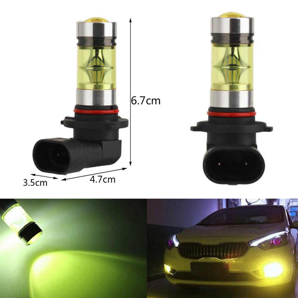 2pc 9006 Super Bright 2828SMD 100W 20LED Car DRL Fog Light Headlight Lamp