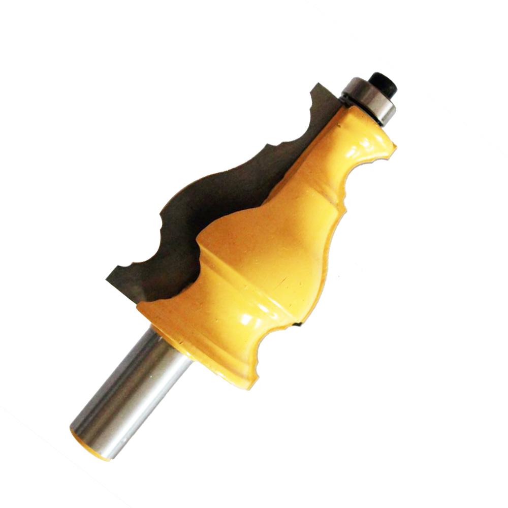 1/2Inch Shank Frame Molding Router Bit Door Knife Woodwork Tenon CutterTool