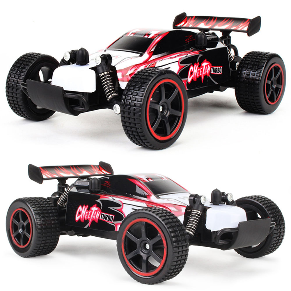 2.4GHz 1/20 2WD RC Remote Control Car Off-road Buggy Racing Truck Toy Gift
