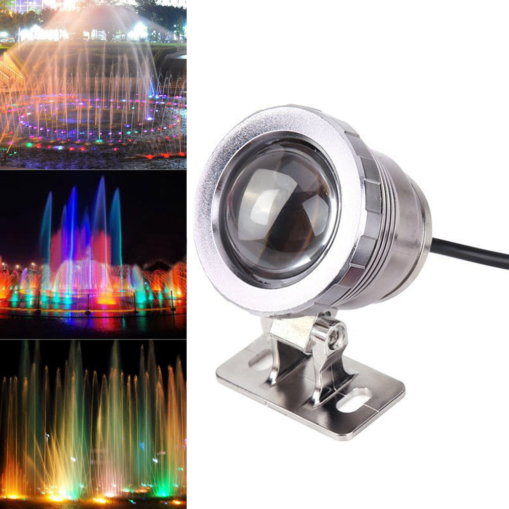 5/10W RGB Led Light Waterproof FountainPool Landscape LampW/Controller