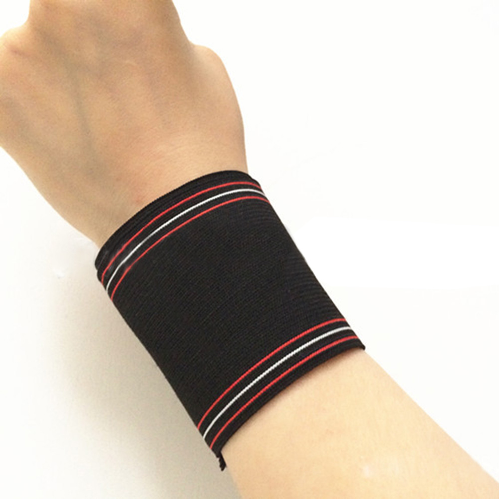 Adjustable Wrist Support Wrap Basketball Sports Adhesive WristbandProtector