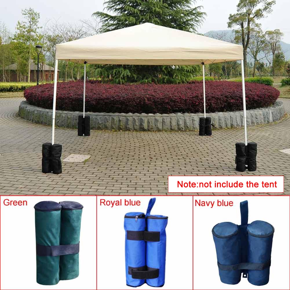 Windproof Tent Leg Weight Sand Anchor Bag Pouch for Canopy Awning Tent LH