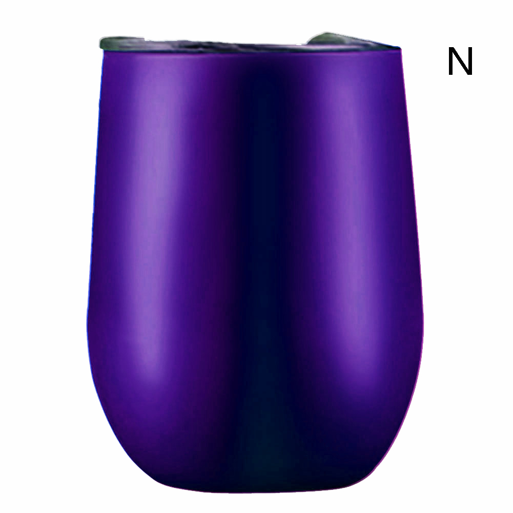 Stemless-Wine-Cup-Stainless-Tumbler-Vacuum-Insulated-Powder-Coated-16-Colors thumbnail 25