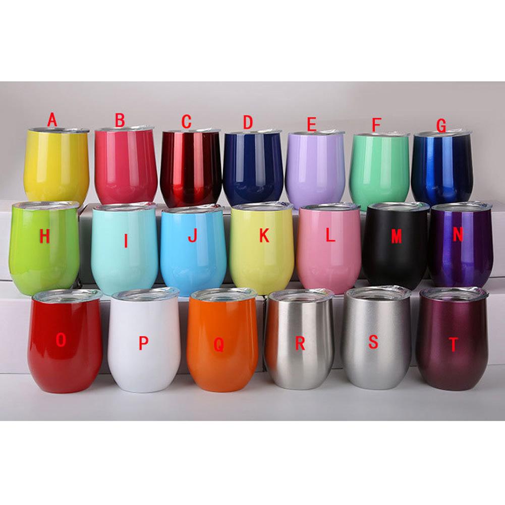 Stainless Steel U-shape Wine Beer Vacuum Insulation Bottle Cup Mug W/Lip